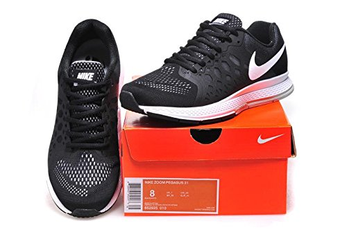 cheap for discount 002d0 2aec4 Air Zoom Pegasus 31 Black Running Shoes Buy Online at Low Prices in India  - Amazon.in