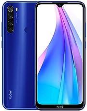 """Xiaomi Redmi Note 8T 3Go de RAM + 32Go de ROM Téléphone, Affichage Plein écran de 6,3"""" Pouces, Processeur Snapdragon 665 Octa-Core, 13MP à l'avant et 48MP Caméras Arrière Mobile Global Version (Bleu)"""