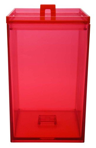 Zak Designs Pop 2-1/2-Quart Stackable Canister, Red (Zak Pop Designs)