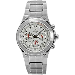 Sinobi By Lavaro Men's Quartz Wrist Watch SS1032G-2 with Metal Strap