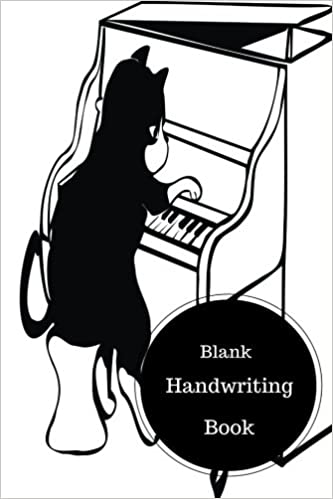 Blank Handwriting Book: Handwriting Worksheets Cursive. Handy 6 in ...