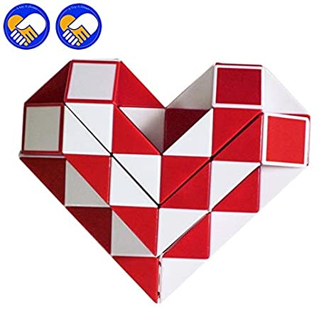 Puzzles & Games 36 Segments Magic Snakes Ruler Cubes Puzzle Standard Version Snake Twist Cube Puzzle Education Imagination Game Toy