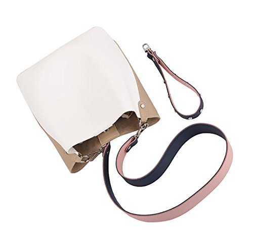 Bags handle Bag Basket Top Bags Girls Broadband Shoulder Dishes Bag Crossbody Joker For Women's Bucket Bags B 6vgRqw