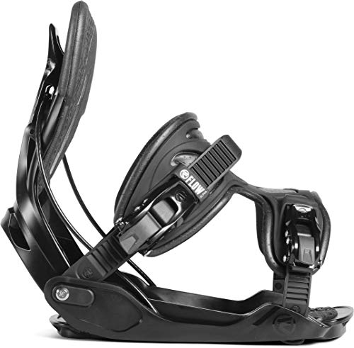 (Flow Alpha Snowboard Bindings 2019 - Men's Black Large)