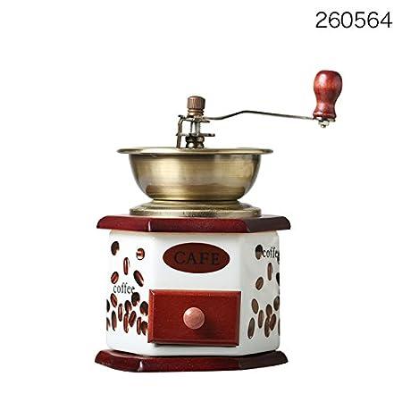 LX.AZ.Kx Vendimia Manual Molinillo de café cafetera Cafe ...