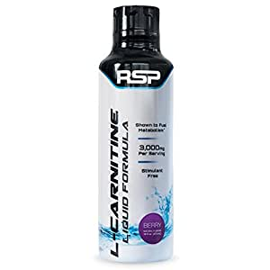 RSP Nutrition Weight Loss Supplement, Liquid L-Carnitine, 16 Fluid Ounce