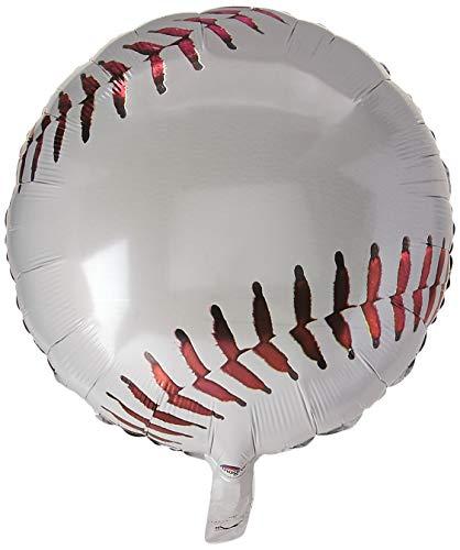 Anagram International A11703001 Championship Baseball Balloon Pack, 18