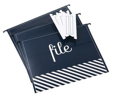 See Jane Work Hanging File Folders, Letter Size, 8 1/2