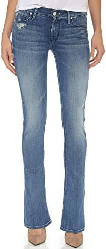 MOTHER Women's Runaway Skinny Flare Jeans