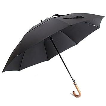 76b8e643b0d8 Baron W.H Large umbrella 135cm solid wood handles Men's business ...