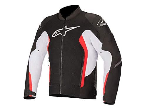 - Alpinestars Viper V2 Air Jacket (Large, 1304-BLACK White Bright Red)