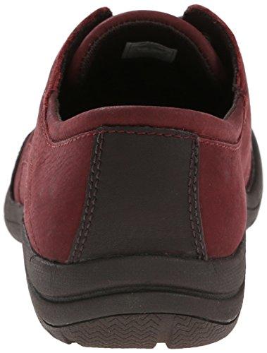 Merrell Petromus lazo del zapato Deep Red/Espresso