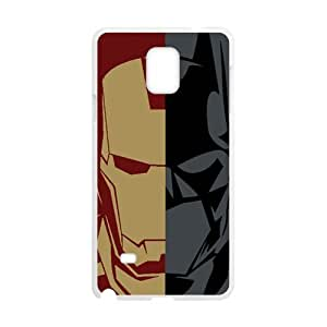 SANLSI Iron Man and Batman Cell Phone Case for Samsung Galaxy Note4