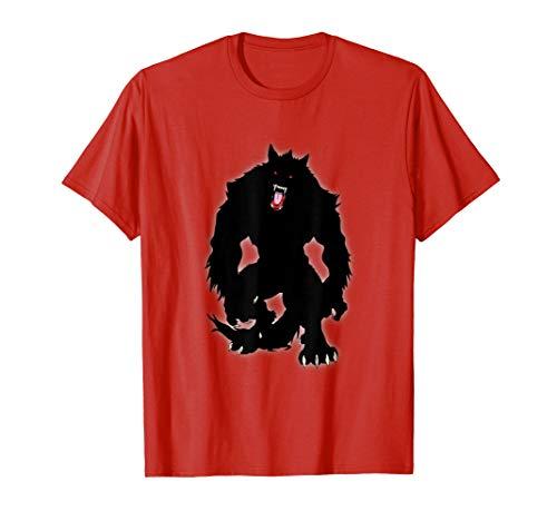 Black Shuck Werewolf T-Shirt Amazing Halloween Costume Idea -