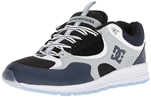 Dc Kalis Shoes - DC Men's Kalis Lite SE Skate Shoe, Blue/Black/Grey, 11.5 Medium US