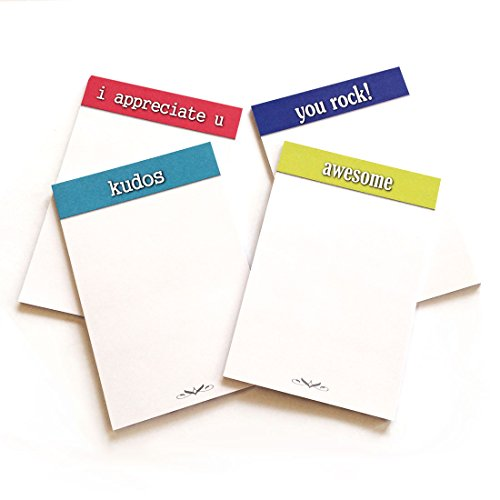 - Appreciation Sticky Note Pads (set of 20 pads)