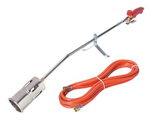 Rothenberger Industrial - RoMaxi Premium - Anwärmbrenner und Abflammgerät - inkl. 5 Meter Propangasschlauch - 030954E