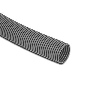 6 Metres Caravan / Motorhome convoluted grey waste water pipe - 28.5mm ID