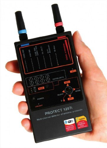 Amazon.com: DefCon Security Products iProtect Multi-Channel Detector for Wireless Protocols - DD1207: Home Audio & Theater