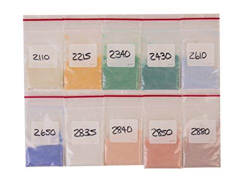 Transparent Enamel Assortment For Metals