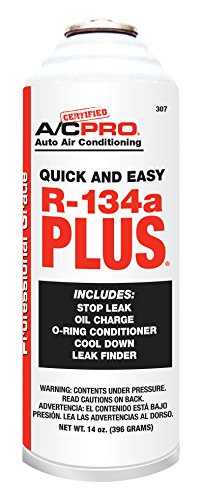 Certified A/C Pro Auto A/C R-134a PLUS (14 ounces), 307