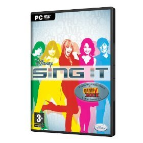 Disney Sing It (PC-DVD) Featuring music from Hannah Montana, Camp Rock & other favorites (Microphone Required and not included)