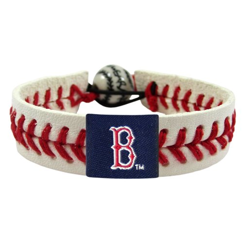 (MLB Boston Red Sox Classic Baseball Bracelet)
