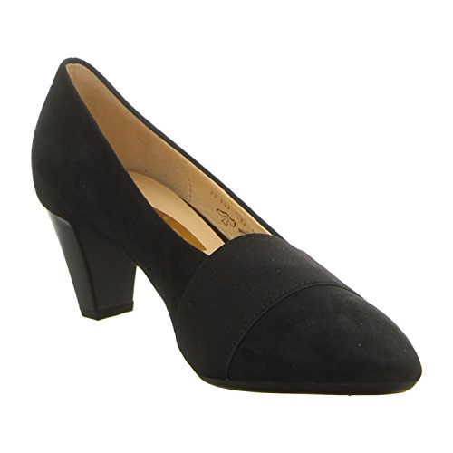Gabor - Zapatos de vestir de Piel para mujer 50 negro