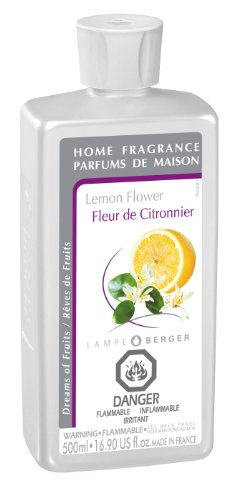 Lampe Berger Fragrance - Lemon Flower , 500ml / 16.9 fl.oz. (Flower Home Fragrance Oil)