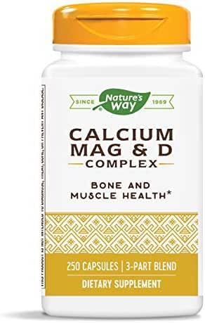 Nature's Way Calcium–Magnesium–Vitamin D (Packaging May Vary)