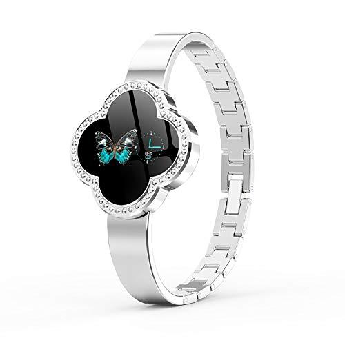Beauty-OU Smart Watch Women 2019 Waterproof Heart Rate Monitoring Lady Clock for Android iOS Fitness Bracelet - 14k Clock