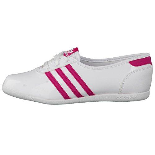 adidas Mädchen Ballerina Forum Slipper 2.0 K Ftwr White/Bold Pink/Ftwr White 31