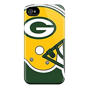Perfect Green Bay Packers Case Cover Skin For Iphone 4/4s Phone Case