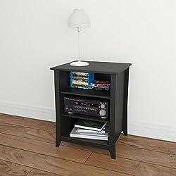 Nexera Tuxedo Stereo Cabinet 201006, Black