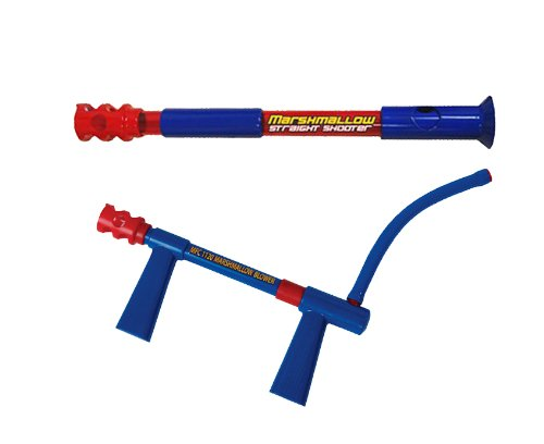 Marshmallow Fun Company Dual Pack Classic Straight Shooter & Blower