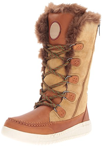 Pajar Women's Paityn Snow Boot, Tan/Church, 39 EU/8-8.5 M US by Pajar