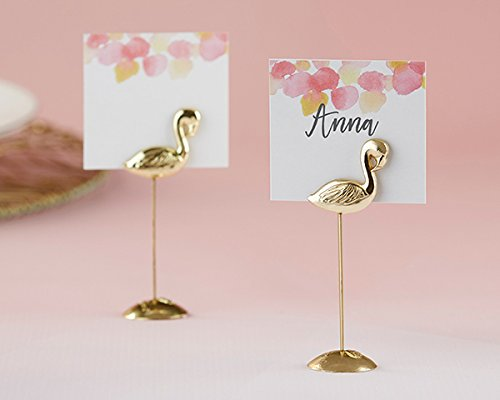 48 Flamingo Place Card Holders by Kate Aspen
