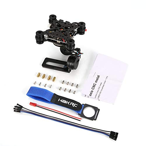 Wikiwand HAKRC 3-Axis Brushless PTZ Control Panel Gimbal for Drone Gopro3/4 Phantom by Wikiwand