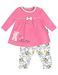 Peppa Pig Baby Girls' Peppa Pig Dress Set