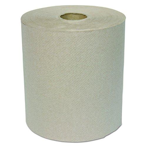 General Supply GEN1826 Hardwound Roll Towel, 1-Ply, Kraft, 8