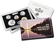 2020 S U.S. Mint 10 Coin Silver Proof Set - OGP box and COA Proof