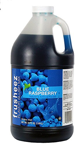 Blue Raspberry Frusheez Slush Mix (1/2 gallon) ()