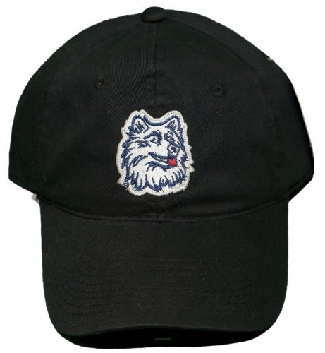 (NEW!! Connecticut Huskies Adjustable Buckle Back Hat 3D Embroidered Cap - UCONN)