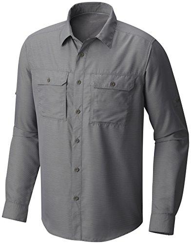 Mountain Hardwear Men's Canyon¿ L/S Shirt Manta Grey Medium