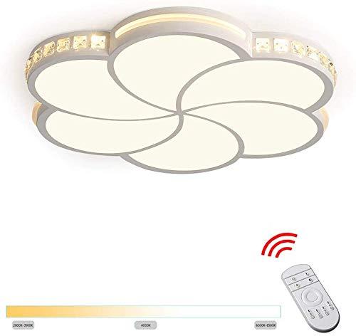 CattleBie Techo 32W regulable LED ultradelgado moderna ligera de la lampara de techo Top 360 lampara de efluvios techo de la habitacion Cocina Pasillo del sitio del cuarto de estar de la lampara de cr