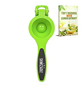 Shwizadle Lemon Squeezer with Grips - Green