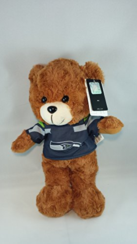 (Seattle Seahawks 2015 Large Fuzzy Uniform Bear)