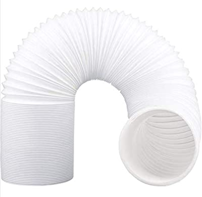 """ZHOUWHJJ Air Conditioner Hose. Portable Exhaust Vent with 5.9"""" Diameter - Length up to 80"""". Great for LG, Delonghi and Many More Portable Air Conditioners. AC Hose to Stop Leaks and Save Energy"""