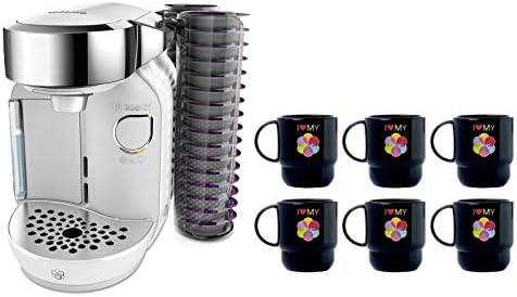 Bosch TASSIMO Caddy + 6 vasos para cafeteras 27,0 x 18,3 x 32,2 cm ...