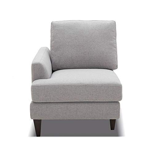 CHITA Modular Sofa and Loveseat, Modern Fabric Couch for Living Room, Grey -【Left Seat Module】